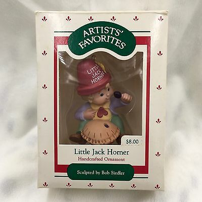 Hallmark Ornament Little Jack Horner