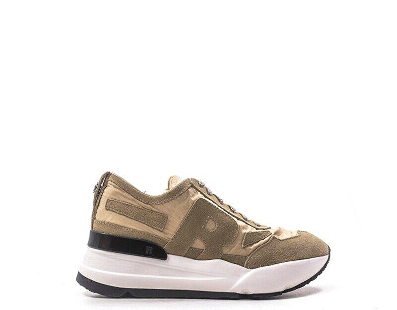 zapatos Rucoline Woman Beige Fabric, Suede 4009-83347-15AV