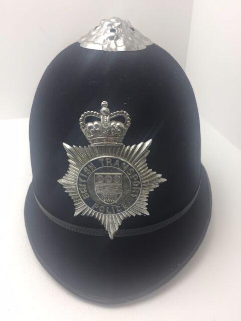 Vintage British Transport Police Bobby Helmet (25) (G6)