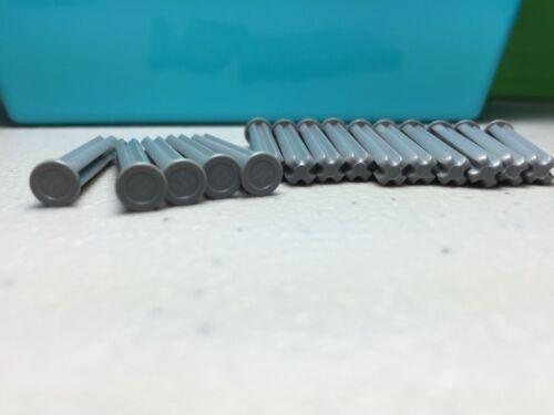 *NEW* Authentic LEGO  Dark Bluish Gray Technic Axle Size 4 with Stop x15