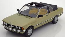 1979 BMW 323i E21 Baur Conv. Light Green Met. by BoS Models LE of 1000 1/18 Rare