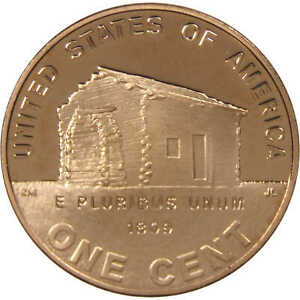 2009-S-Lincoln-Bicentennial-Cent-Birth-and-Early-Childhood-Proof-Bronze-Penny-1c