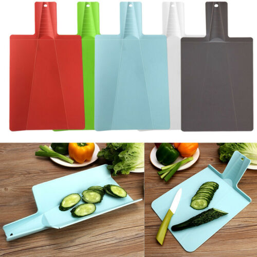1PC Foldable Cutting Board PP Chopping Blocks Non-slip Kitchen Cooking Supplies