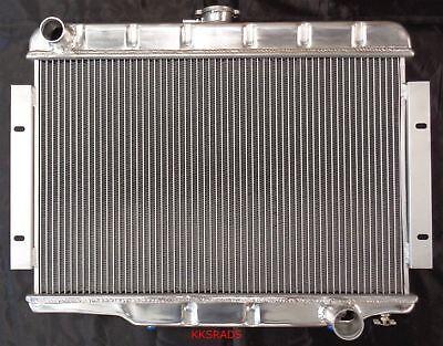 3 Rows Aluminum Radiator for Jeep CJ Series CJ5 CJ7 w// Chevy V8 1972-1986 73 74
