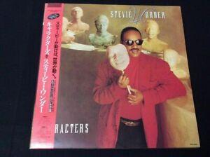 STEVIE WONDER CHARACTERS 1987 JAPAN Vinyl LP MOTOWN RMTL-8050 + OBI NEAR MINT