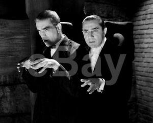 The-Raven-1935-Boris-Karloff-Bela-Lugosi-10x8-Photo