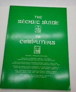 Vintage-1981-Secret-Guide-Computers-Vol-7-Popular-Languages-Fortran-Pascal-Cobol