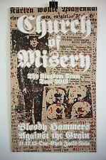 Church of Misery gig poster Thy Kingdom Scum 2013 doom Sabbath Eyehategod NOLA