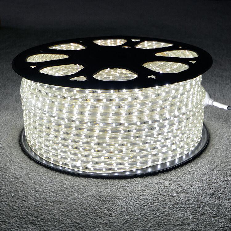 Cool Blanc smd  led strip 220V 240V étanche IP68 3528 smd Blanc commercial lumières de corde 05bcc4