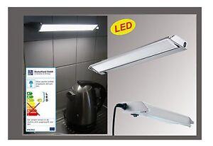 LED-Unterschrank-Leuchte-Kuechenschrank-Unterbau-Lichtleiste-230V-mit-Zuleitung