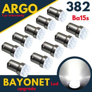 1156-Ba15s-LED-Blanc-382-Ampoules-Xenon-Voiture-9-Feux-Stop-Frein-Fog-Marche-12v