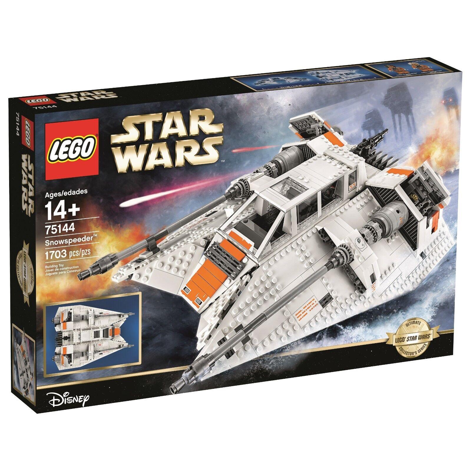 Lego Star Wars 75144 Snowspeeder-UCS Exclusive Expédition Mondiale