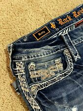 Rock Revival Betty Skinny Crop Ep9162sc229 Denim Women Jeans Size 27 For Sale Online Ebay