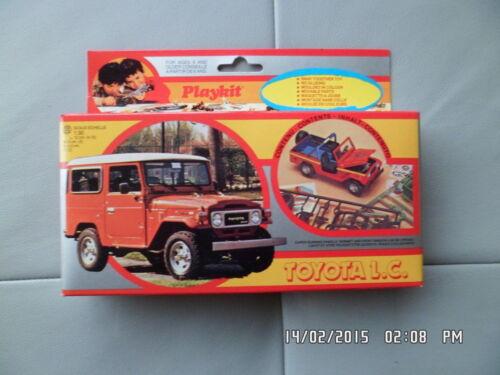 KIT TOYOTA LC LAND CRUISER PLAYKIT 1983 1//30 Neuf H13
