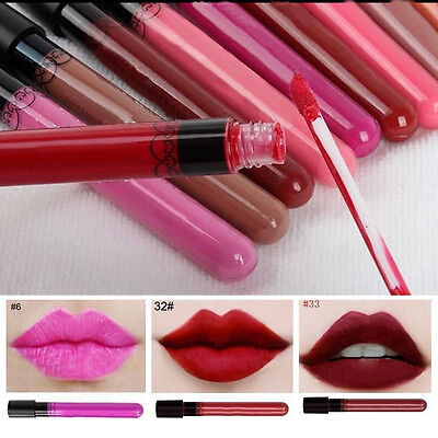 Beauty Makeup Lip Pencil Matte Lipstick Lip Gloss Long Lasting Waterproof Liquid