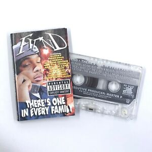 FIEND There's One In Every Family Cassette Tape 1998 No Limit Gangsta Rap Rare