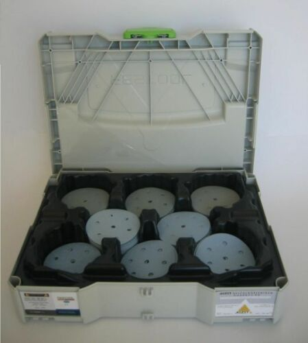 Schleifmittel SYSTAINER SYS 1 TL STF gefüllt mit Festool GRANAT 90 ⌀ Lackschliff