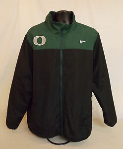 NIKE Oregon DUCKS Football Therma-Fit Thick Zip Up JACKET Men's Extra Large COAT
