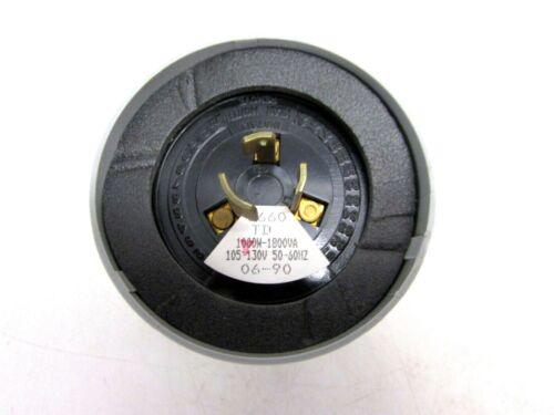 FISHER PIERCE PHOTOELECTRIC LIGHTING CONTROL MODEL 6660 TD 105//130 VOLT NOS