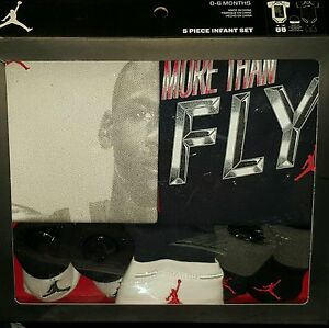 f42aa6b6bc1c Image is loading Nike-Air-Jordan-Infant-5-Piece-Set-Size-
