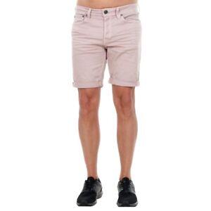 Jack&Jones Hombre Bermuda pantalón corto Morado 14189