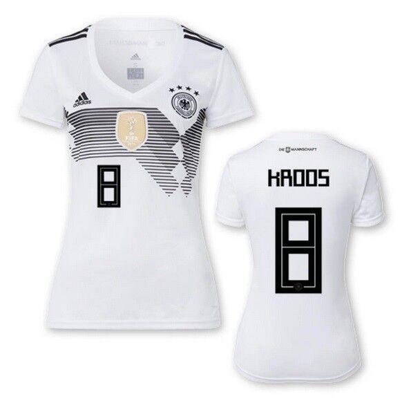 Trikot Adidas DFB 2018 Home Damen - Kroos 8  Deutschland WM 2018