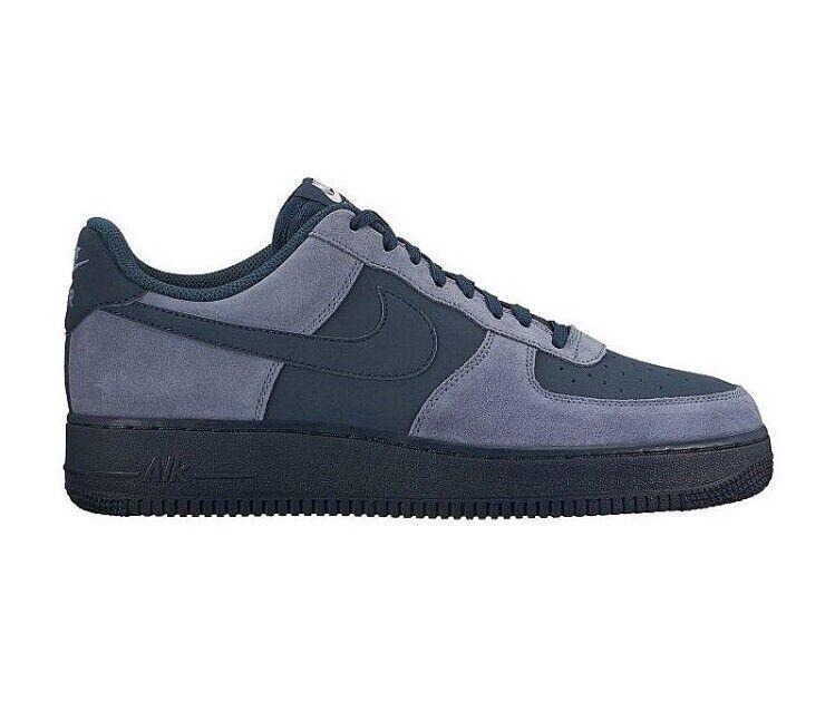 Nike air force 1 basso armeria blu marina grigio antracite mezzanotte 820266-405 sz 14