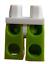 Lego-2-Stueck-limette-lime-Beine-mit-weisser-Huefte-fuer-Minifiguren-970c34-Neu Indexbild 2
