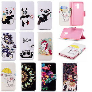 Cute-Animals-Magnetic-Leather-Card-Wallet-Flip-Stand-Case-Cover-For-Lot-Phones