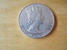 Queen Elizabeth II Coronation Souvenir Medal