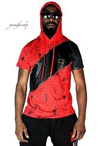 Time-is-Money-splatter-star-club-t-shirt-urban-rap-hip-hop-g-hoody-mens-tees-rd