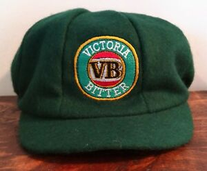 Victoria-Bitter-VB-Beer-Baggy-Cricket-Cap-NEW-One-size-Fits-All