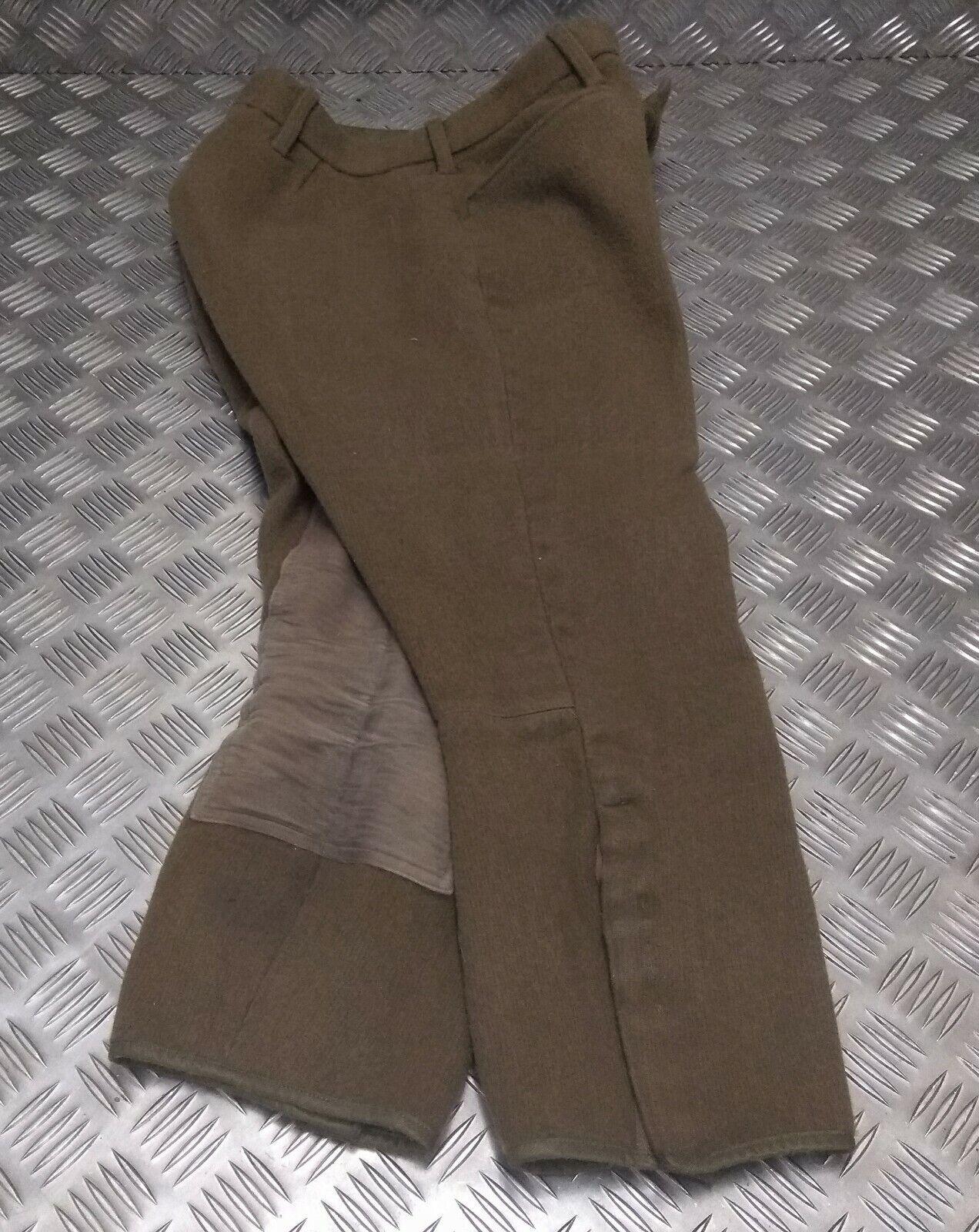 Genuine British Army Issued Household Cavalry No2 Dress Breeches   Jodhpurs - G3