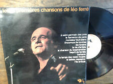 Les 12 premières chansons de léo ferré disque vinyle 33 tours Barclay   80393