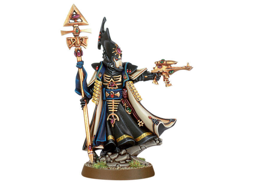 Warhammer 40,000 Eldar Farseer with Staff Aeldari Craftworld NIB OOP