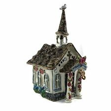Blue Sky Clayworks Blessing of Love Candle House by Heather Goldminc 2004