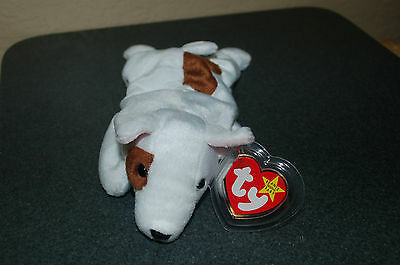 "MWMT CHECK OUT ALL MY BEANIES! TY Beanie Babies /""BUTCH/"" the Bull Terrier DOG"