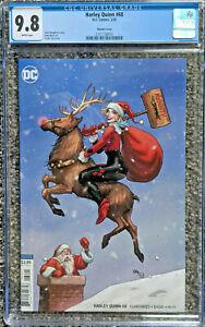 Harely-Quinn-68-Frank-Cho-Santa-Variant-CGC-9-8-DC-Comics