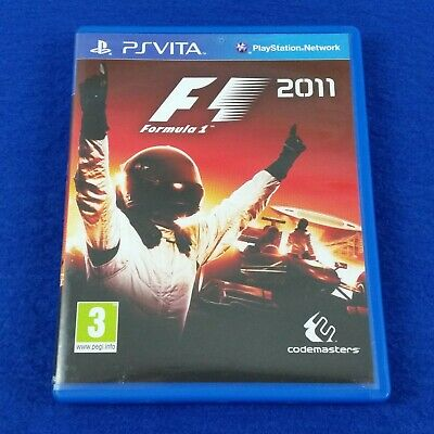 PS VITA F1 2011 Formula One Racing Game REGION FREE PAL UK English PSVITA  5024866345933 | eBay