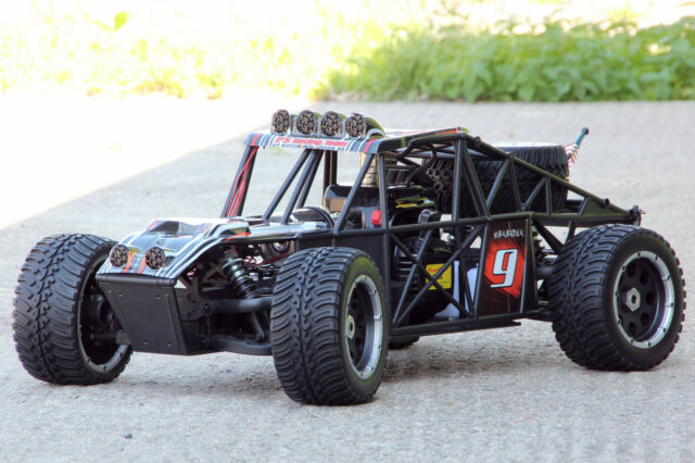 XTC RC MONSTER STRAND BUGGY 1:5 2WD TRUCK RTR 31ccm 3,5PS 80Km/h + 6x LED 2,4Ghz