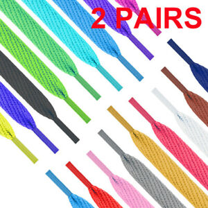 Shoelaces-Colorful-Coloured-Flat-Round-Bootlace-Sneaker-Shoe-Laces-Shoe-Strings