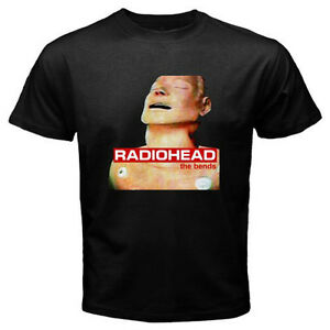 0ad89a0c9 New RADIOHEAD - The Bends Rock Band Legend Men's Black T-Shirt Size ...