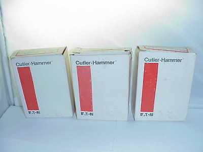 3 Cutler Hammer H1046 overload relay element heater coil 1046 lot of 3 6 availab