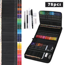160 Farben Holzfarbstifte Set Künstler Gemälde Ölstift für die Schule
