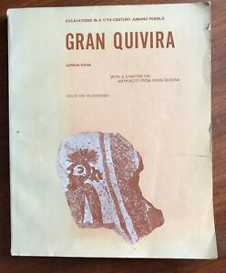 Gran-Quivira-Excavations-in-17th-C-Jumano-Pueblo-by-Gordon-Vivian-1979-PB-Book