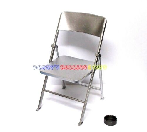 """Silver 1 x New 1//6 Scale Furniture Chair For Barbie Doll /& 12/"""" Action Figures"""