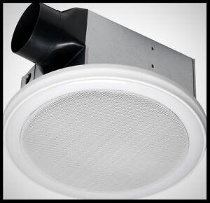 100 Cfm Ceiling Bathroom Exhaust Bath Fan With Light