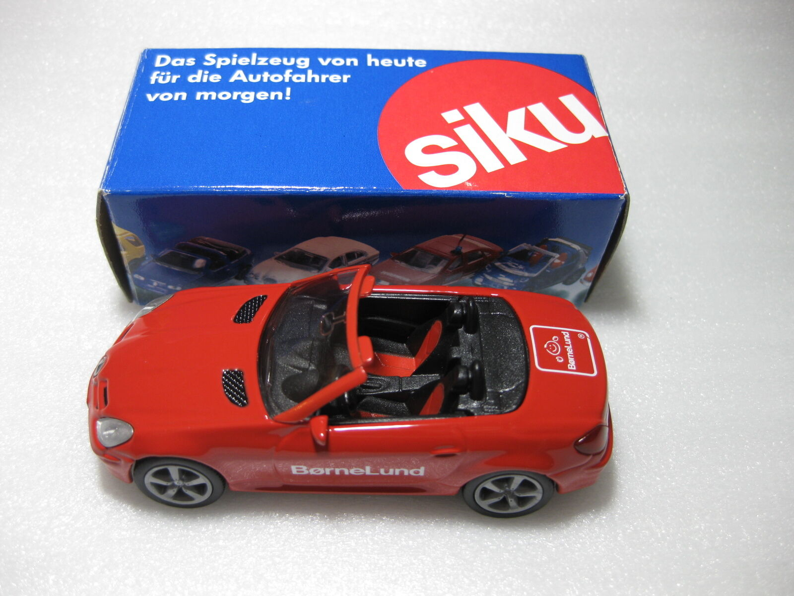SIKU Mercedes Benz SLK350 Bornelund 2005 Exclusive Diecast Model Rare Promo