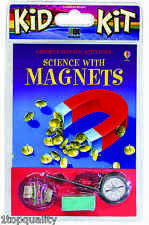 Science with Magnets Kid Kit - Help Your Kids Teach Themselves, Quick Delivery