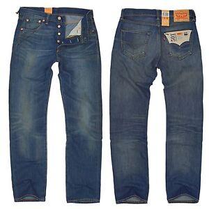levis 501 herren jeans hose 00501 1870 field of dreams w30 w36 l30 l34 ebay. Black Bedroom Furniture Sets. Home Design Ideas